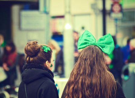 parade, clover, march, holiday
